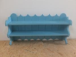 Półka cepelia - kolor niebieski
